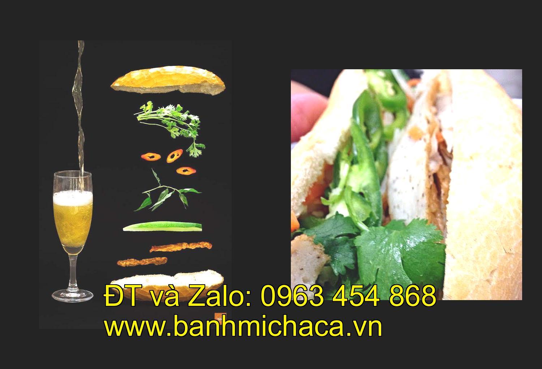 chả cá bán bánh mì tại tỉnh An Giang