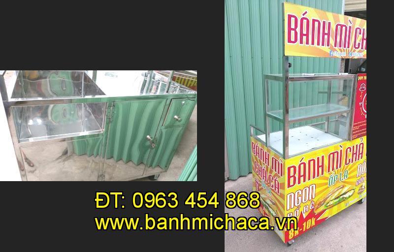 Bán xe bánh mì chả cá tại tỉnh Bạc Liêu